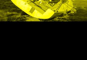 Équipage d'un voilier en pleine mer odis-c